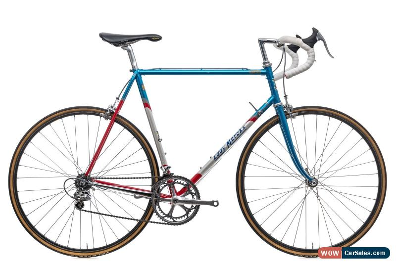 1990s Eddy Merckx Corsa Road Bike 60cm Columbus Steel Shimano Dura Ace 8s For Sale In United States