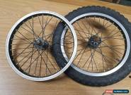 16 Inch BMX Wheels Alloy Black 12 tooth spinback for Sale