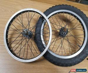 Classic 16 Inch BMX Wheels Alloy Black 12 tooth spinback for Sale