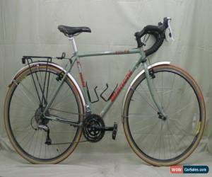 Classic Bianchi Volpe Touring Road Bike S 53cm Bianchi Green Steel Serviced Cant Cahrity for Sale