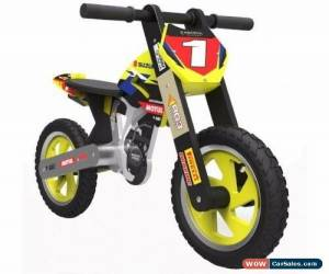 "Classic Kiddimoto ""Matt Moss"" Signed Suzuki Balance Bike for Sale"