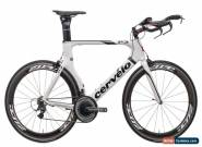 2011 Cervelo P3 Time Trial Bike 61cm X-Large Carbon Shimano Dura-Ace Zipp for Sale