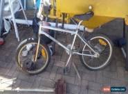 Rusty Chrome Gemini Bmx Bike 80's Vintage for Sale