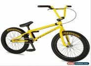 """New 2019 Eastern 20"""" BMX Nightwasp Bicycle Freestyle Bike 3 Piece Crank Yellow  for Sale"""