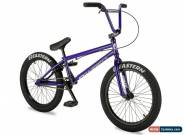 "New 2019 Eastern 20"" BMX Javelin Bicycle Freestyle Bike 3 Piece Crank Purple  for Sale"