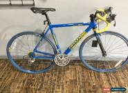 Cannondale Silk Road 800 Blue Road Bicycle Shimano 105 Components 53cm for Sale