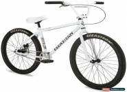 """Eastern Growler 26"""" BMX Bicycle Bike 1 Piece Crank White 2019 NEW for Sale"""