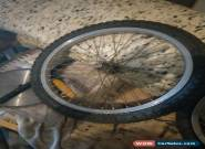 Old School Mongoose Bmx Rims And Tyres  for Sale
