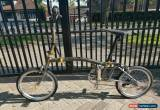 Classic Brompton Titanium Super Light Raw Lacquer Six speed lightweight modifications  for Sale