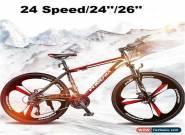 "Men/Women 24Speed 24""/26"" Wheel MTB Frames Full Suspension Mountain Bike/Bicycle for Sale"
