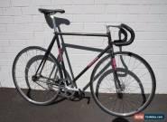 Makino Track Bike 57cm Black w Rainbow Flake for Sale