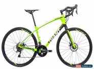 2018 Giant Anyroad Advanced 1 Road Bike Large Carbon Shimano 105 5800 11s PX2 for Sale