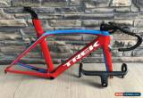 Classic RSL Trek Madone 9 Project One Viper Red 56cm H1 700 OCLV Carbon Frame Set for Sale