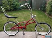"HUGE 26"" AMERICAN CHOPPER USA BEACH CRUISER Lowrider Bike BMX Bicycle Old School for Sale"