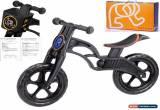 Classic POPBIKE Children Kids Learning Balance Bike 12 EN71 & CE Certified Safety BLACK for Sale