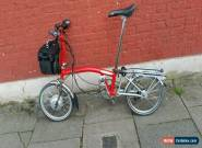 Brompton S6R electric folding bike shipping worldwide available . for Sale