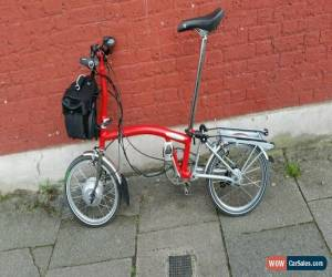 Classic Brompton S6R electric folding bike shipping worldwide available . for Sale