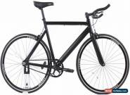 USED 2015 State Bike Black Label 57cm Track/Fixed Gear Single Speed Bike Black for Sale
