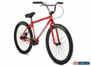 "New 2019 Eastern Growler Limited 26"" BMX Bicycle Bike 3 Piece Crank Red  for Sale"
