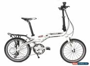 HASA Folding foldable Bike Shimano 16 Speed White for Sale
