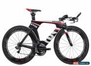2013 Cervelo P5 Three TT Triathlon Bike 51cm Carbon Shimano Ultegra Di2 10s Zipp for Sale