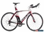 2012 Fuji D6 4.0 TT Triathlon Bike 54cm Medium Carbon Shimano 105 10s Oval for Sale