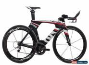 2012 Cervelo P5 Six TT Triathlon Bike 51cm Carbon SRAM Red 10s Rolf Prima Ares4 for Sale