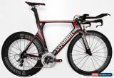 Classic STRADALLI AERO CARBON FIBER TRIATHLON TRI BIKE ULTEGRA 8000 TT ROAD WHEELSET FSA for Sale