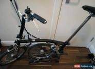 Brompton M3R  Titanium Superlight folding bike with original titanium seat-post for Sale
