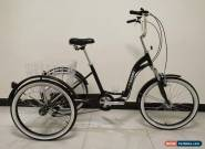 "ADULT TRICYCLE, FOLDING, 24"" WHEELS, 6 SPD SHIMANO, BLACK, adult trike, triciclo for Sale"