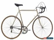 1982 Basso Gap Road Bike 58cm Columbus Steel Campagnolo Nuovo Record 6 Speed for Sale