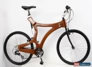 A unique hand-made wooden bike / mahogany bicycle ; Fahrrad aus Holz / Mahagony for Sale