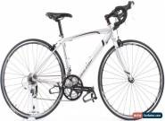 USED 2013 Raleigh Revenio 1.0 49cm Aluminum Road Bike Silver 3x8 Speed Shimano for Sale