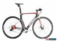 STRADALLI CITY BIKE DISC BRAKE AERO CARBON BICYCLE SHIMANO METREA U5000 for Sale