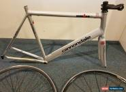 Cannondale road bike 60cm frame USA ironman 600 and Ritchey wheels for Sale