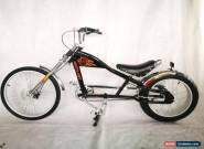 Rosetta Sport LA bicycle Lowrider BLACK MO chopper bike Harley cycle cruiser for Sale