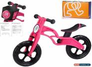POPBIKE Children Kids Learning Balance Bike 12 EN71 & CE Certified Safety PINK for Sale