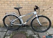 Islabikes Beinn 29er Medium Bike White Inc Mudguards, Rear Rack, Bottle Cage for Sale