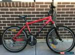 """Giant Boulder Mens Mountain Bike Bicycle 19"""" Red & Black for Sale"""
