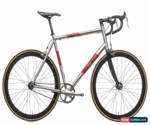 Classic 2010 Specialized Langster Moscow Fixie Track Bike 61cm Alloy Dura-Ace H Plus Son for Sale