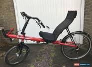 Bacchetta Giro 20 Recumbent Bike for Sale
