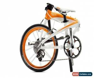 Classic Tern Verge X10 Folding Bike White/Orange Upgraded Parts for Sale