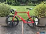 Rare Kestrel KM40 Airfoil Spinergy Rev X Carbon Fiber Shimano Ultegra Aero Bike! for Sale