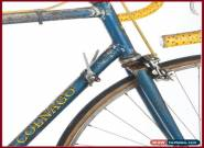 COLNAGO SUPER CAMPAGNOLO RECORD VINTAGE STEEL RACING ROAD BIKE 1972 70s MERCKX for Sale