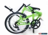 "Sundeal F1 Folding City Urban Travel Bike 20"" Shimano 7 Speed Alloy Storage NEW for Sale"