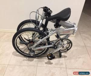 Classic Dahon Archer IM P18 Shimano 18speed Light Alloy Folding Bike Silver for Sale