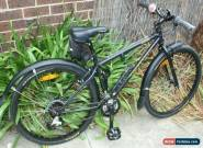 "Bycycle Kona Smoke 26""  Mat Black paint work in excellent condition for Sale"