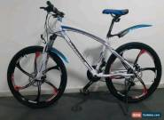 Pedalease Estar MTB Mountain bike magnesium Mag wheels disc brake 24 speed white for Sale