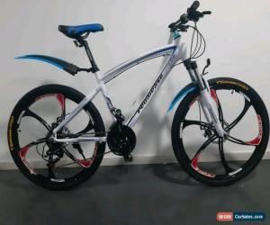 Classic Pedalease Estar MTB Mountain bike magnesium Mag wheels disc brake 24 speed white for Sale