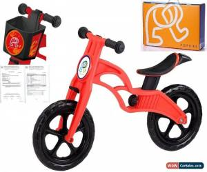 Classic POPBIKE Children Kids Learning Balance Bike 12 EN71 & CE Certified Safety RED for Sale